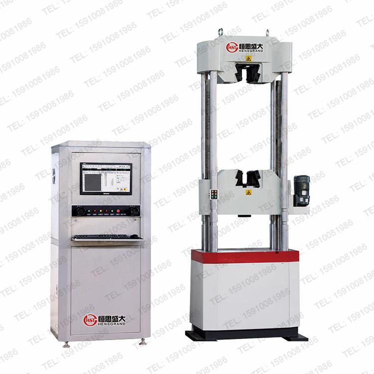 50/60/100吨电ye伺服钢绞线拉力试验机