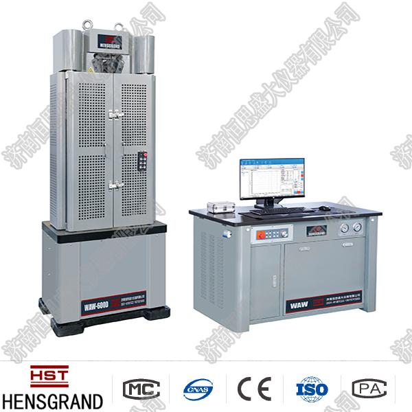 WE-D数显shi液压wan能试验机